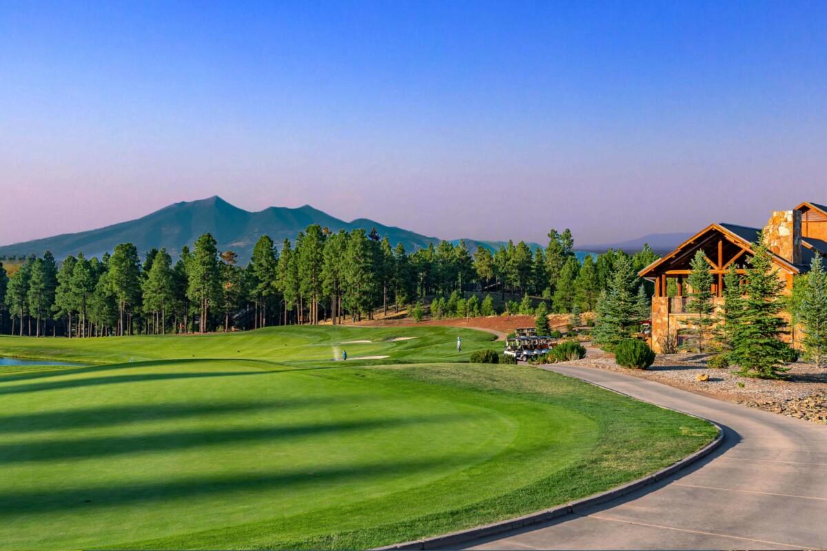Flagstaff Ranch Golf Club Twilight